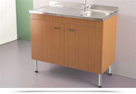 mobile con lavello per cucina nuovo mobile per cucina con lavello acciaio inox 100x50