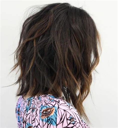 shags with highlights 50 best variations of a medium shag haircut for your