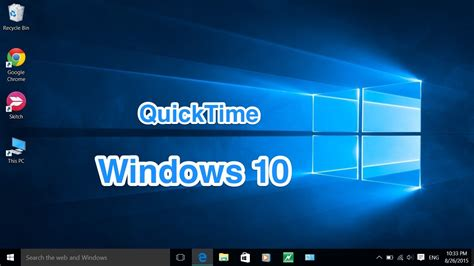 apple quicktime player windows 10 how to quicktime for windows 10 and mac os