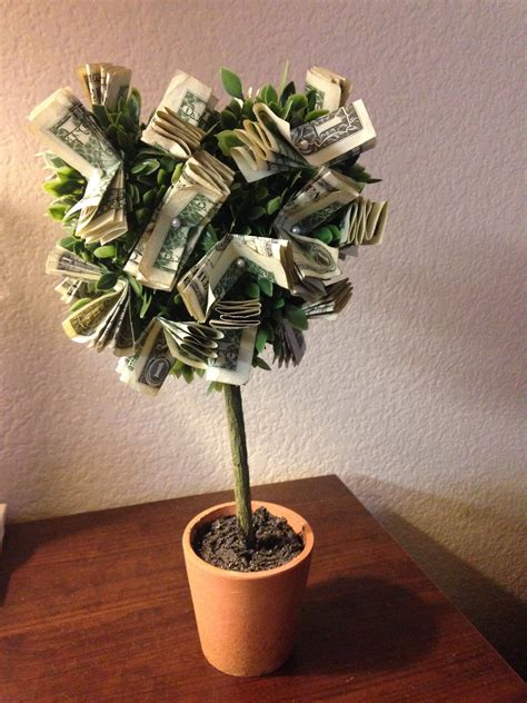 money tree just put a ribbon or some special touch to the base of the quot plant quot and viola money