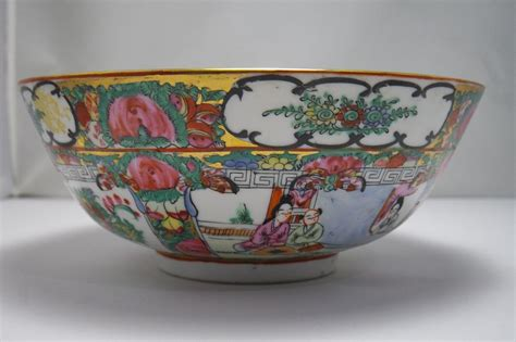 Excellent Antique Chinese Famille Rose Porcelain Bowl Mark