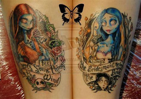 tim burton tattoo designs tim burton the nightmare before and