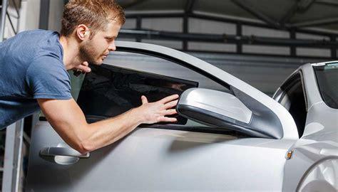 remove window tint easy methods  dissolving glue