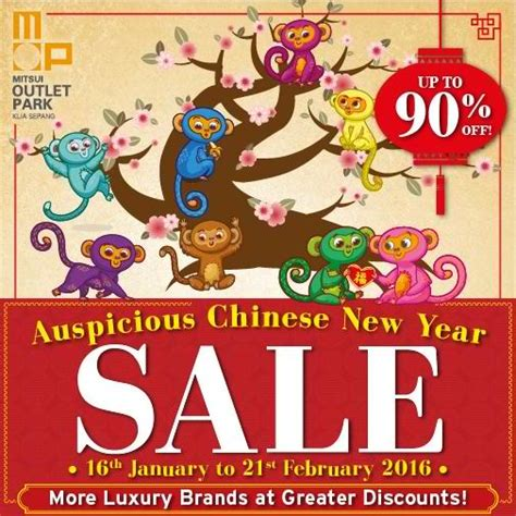 auspicious date for new year 2016 mitsui outlet park klia auspicious new year sale