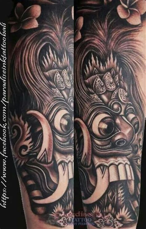 airbrush tattoo in bali 15 best barong images on pinterest barong tattoo ideas