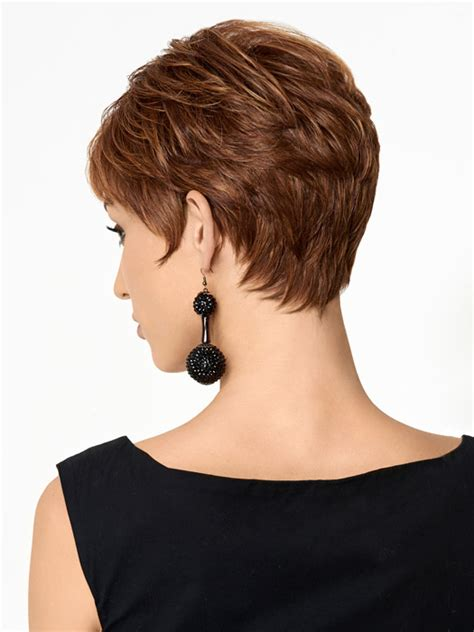 neckline photo of women wth shrt hair pictures tapered necklines for womens short hair short