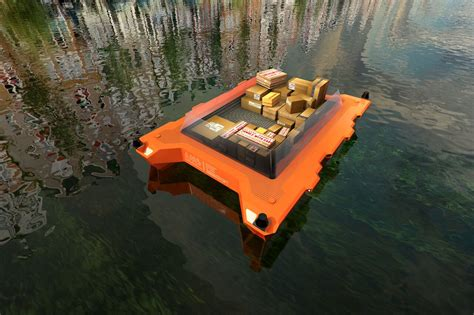 robot boat self driving boats will be tested on amsterdam s canals