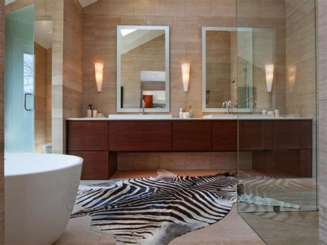 bathroom rug ideas cool black and white bathroom decor for your home