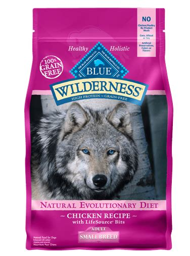 blue buffalo blue wilderness chicken  small breed dry