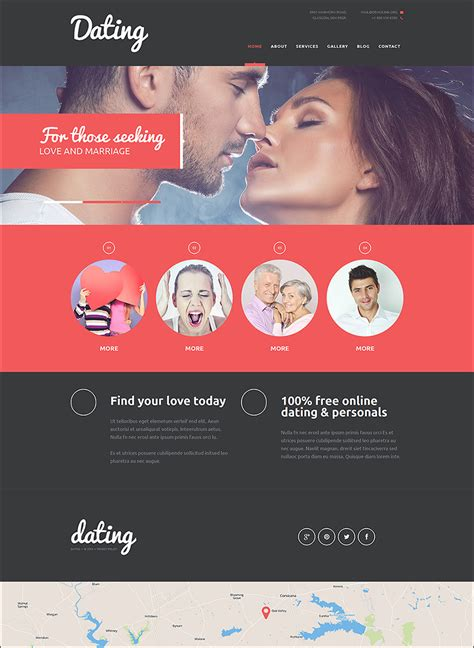 dating site template free dating website themes templates free premium