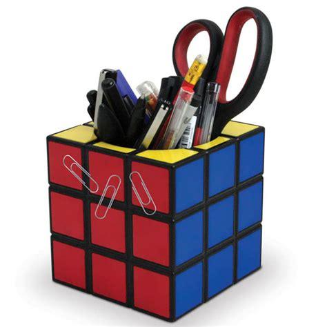 Rubik's Cube Desk Tidy