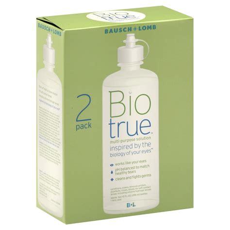 Multi Purpose Solution A 100ml biotrue multi purpose solution 2 10 fl oz 296 ml bottles
