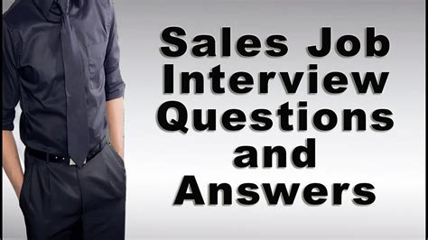 sales questions and answers