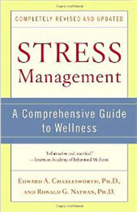 stress the psychology of managing pressure books counseling for stress management learn relaxation with dr