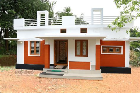 kerala home design in 5 cent 750 square feet 2 bedroom home for 12 lakhs in 4 cent plot