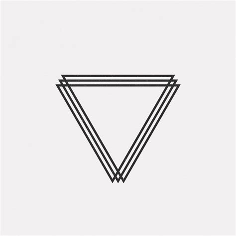 geometric triangle tattoo 25 best ideas about geometric triangle on