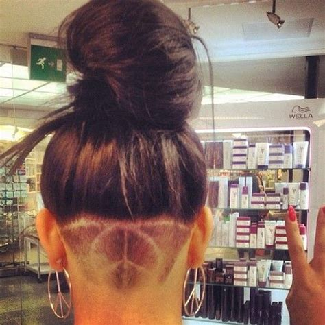 pic of back of shaved aline ahaircuts back undercut google search hair pinterest