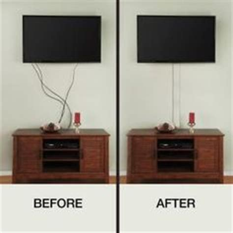 ce tech flat screen tv cord cover a31 kw at the home depot