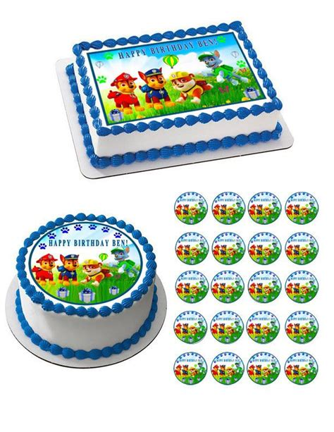 paw patrol cake decorations best 25 paw patrol cake toppers ideas on paw