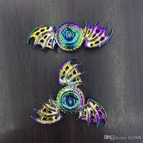 Fidget Spinner Eagle 3 Leafsayapmata Elangunikbagus rainbow wing fidget spinner eagle eye spinners edc toys finger spinning decompression toys
