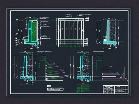 retaining wall dwg block  autocad designs cad