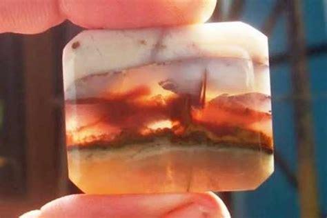Lumut Motif Pemandangan motif pemandangan batu klawing juara igcse asia tenggara