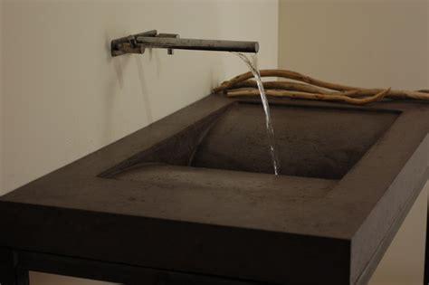 designer bathroom sinks concrete library sink modern bathroom sinks miami by miano design co