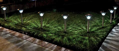 garden solar spot lights homebrite power by solar
