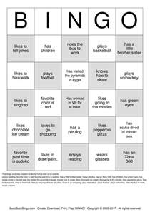 Human Bingo Template human bingo sheet pictures to pin on pinsdaddy