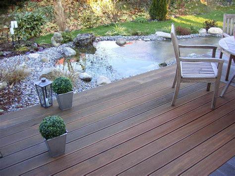 terrasse mit teich teiche zum schwimmen teiche f 252 r ihre kois teiche zum