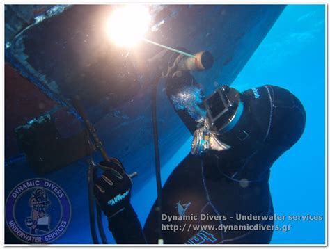underwater welding cutting dynamic divers underwater