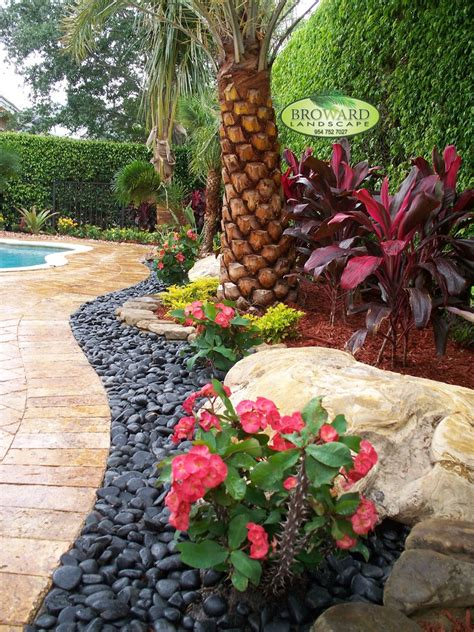 Sensational Garden Edging Ideas Decorating Ideas Images In Tropical Backyard Ideas