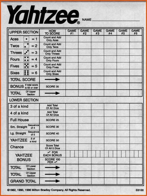 printable triple yahtzee score sheets pdf yahtzee score sheets pdf general resumes