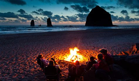 Backyard Brewery Beach Fires It S Legal To Have A Campfire On The Oregon Coast