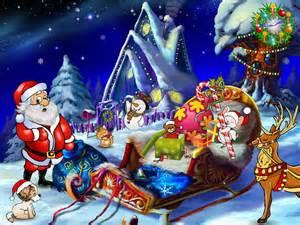 Free christmas screensavers christmas entourage