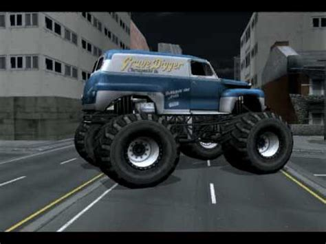 the original grave digger monster truck monster jam urban assault video game surprise truck