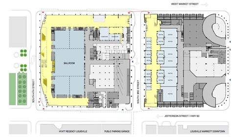 convention center floor plan louisville convention center to undergo 180 million renovation expansion building design
