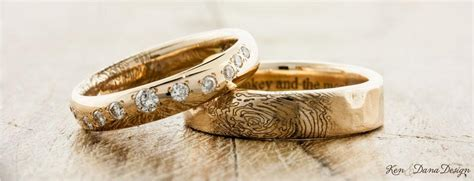 Handmade Band - unique wedding bands custom handmade ken