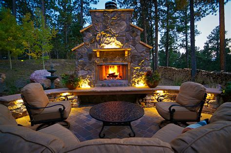 rocky mountain landscapes rustic patio other by