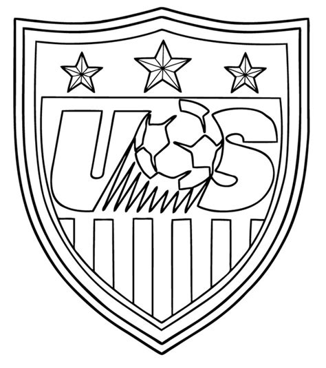 Usa Soccer Team Coloring Pages Coloring Page Soccer Team Coloring Pages