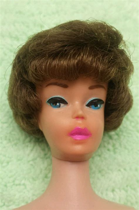 vintage bubble cut barbie hair colors 1960 s barbie dolls a collection of ideas to try about