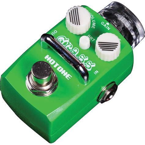 Hotone Grass Overdrive Based On Dumble hotone skyline grass overdrive pedal tpsod1 b h photo
