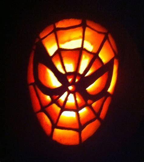 spider man carving pattern 100 pumpkin carving ideas for halloween