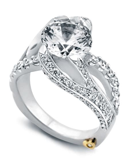 breathtaking contemporary engagement rings