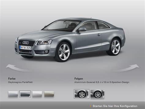Audi Konfiguration by Audi Konfigurator Mach Parat