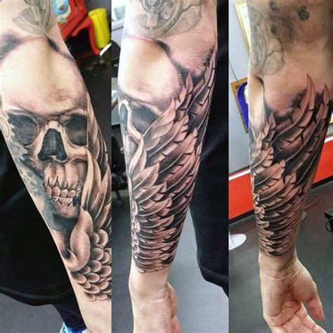 forearm wing tattoo top 100 best wing tattoos for designs that elevate