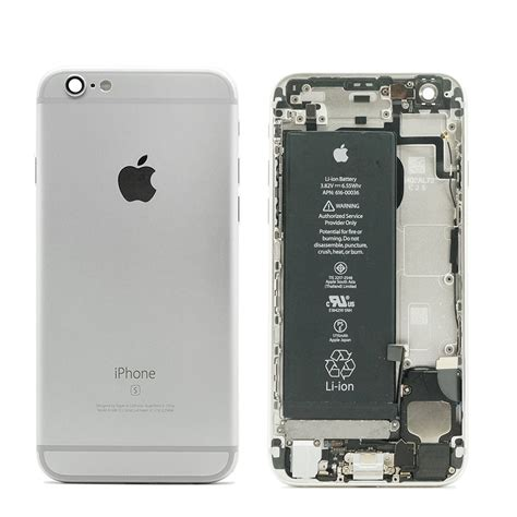 mint refurbished original apple iphone 6s housing assembly battery mid frame ebay