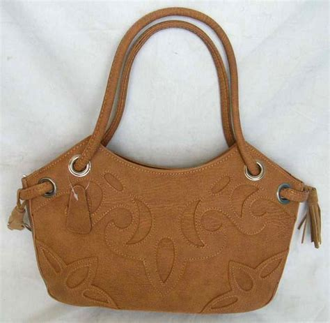 pattern for wood handle purse online shopping mall wholesale natural brown filigree leaf