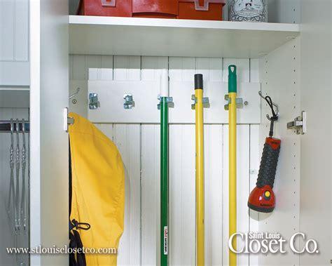 Diy Spice Rack Broom Amp Mop Hooks Saint Louis Closet Co