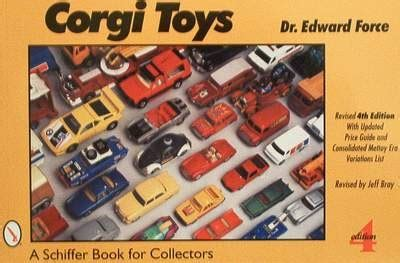 corgi price boek corgi toys with price guide